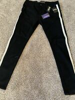 Mens Decibel Jeans With Reflective Stripe Size 30 / 32 NEW