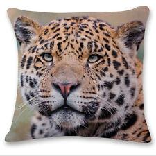 3D Owl Wolf Tiger Animal Sofa Bed Car Home Decor Pillow Case Cushion Cover Throw