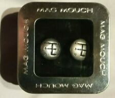 OFFICIAL MAG MOUCH GEAR LEVER CUFFLINKS - PETROLHEAD in TIN CASE