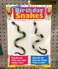 Obvious Plant Birthday Snakes Original Rare Toy Satire New