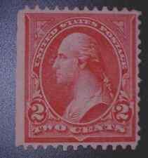 US 279 2c Washingtin Rose Carmine WM 191 MOGH SCV $275