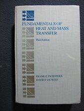 Fundamentals of Heat and Mass Transfer by DeWitt, David P. Hardback Book The