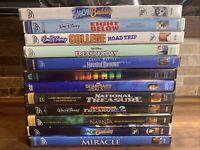 Disney DVD Lot of 12 DVD Space Buddies, Snow Buddies, Guardians Of The Galaxy