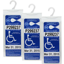 Lotfancy Handicap Parking Placard Holder Cover - Disabled Permit