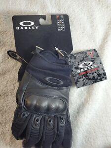 Oakley Mens Factory Pilot Tactical Glove, Black, Small