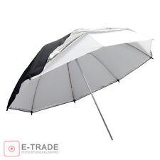 "Universal 43""/110cm Removable reflective black and white Softlight umbrella"