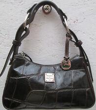 -AUTHENTIQUE petit sac à main DOONEY & BOURKE cuir TBEG vintage bag