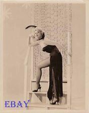 Lili St. Cyr busty leggy VINTAGE Photo
