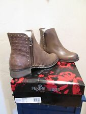 FERGALICIOUS EMBODY TAUPE ANKLE BOOTS BOOTIES WOMENS SHOES SZ 6 1/2 M NEW $80