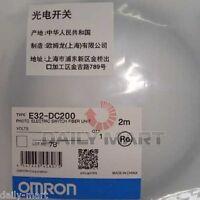 OMRON E32-DC200 E32DC200 Photoelectric Switch Fiber Unit New Free Ship