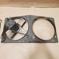 Original Jaguar Series 1.5 XKE 4.2 Aluminum Fan Shroud with One Lucas Fan OEM
