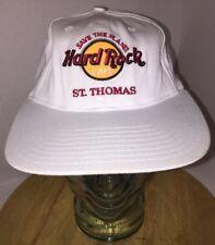 Vintage Hard Rock Cafe Save the Planet St. Thomas 90s Hat Cap Snapback Love