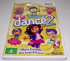 Nickelodeon Dance 2 Nintendo Wii PAL *Complete* Wii U Compatible Dora