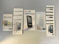 Lot of 24 Screen Guard Optical Tempered Glass Protectors for iPhone 5 / 5S