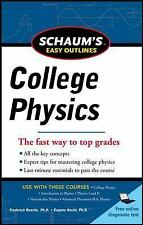 Schaum's Easy Outline of College Physics, Revised Edition (Schaum's Easy