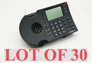 ShoreTel 230 IP 230G VoIP 3 Line Office Business Black Desktop Phone LOT 30