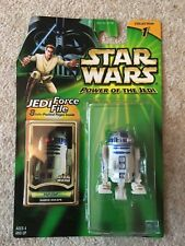 Star Wars R2-D2 Power of the Jedi Figure - MOSC 2000 Hasbro