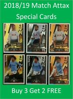 2018/19 EPL Soccer Cards Match Attax - Special Cards - Buy 3 Get 2 FREE