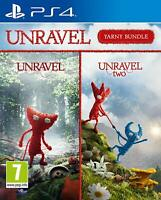 Unravel Yarny Bundle Sony PS4 Playstation 4 **BRAND NEW & SEALED!!**