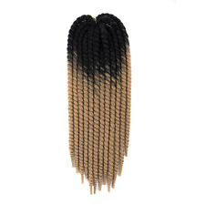 "22"" Ombre Havana Mambo Twists Crochet Braiding Hair Synthetic Hair Extensions"