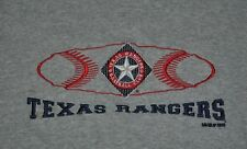 T-SHIRT L LARGE TEXAS RANGERS BASEBALL CLUB DFW VINTAHE 2002 EMBROIDERED SHIRT