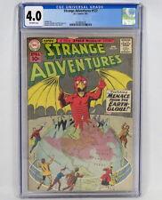 DC Comics Strange Adventures #127 CGC 4.0 O/W Fox Infantino Greene Anderson 1961