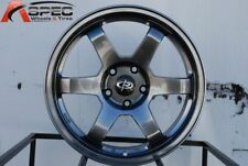 17x8 Rota GRID 5x100 +44 Hyper Black Wheel (1)