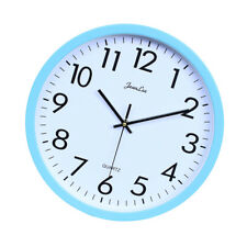 Wall Clock, Silent Non Ticking Quality Quartz Battery Operated 10 Inch Round