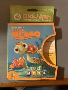 New Leap Frog Click Start My First Computer Disney Finding Nemo Sea of Keys