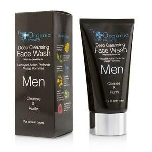 The Organic Pharmacy Men Deep Cleansing Face Wash - Cleanse & Purify 75ml Men's