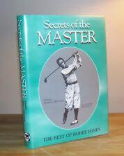 Secrets of the Master. The Best of Bobby Jones. Matthew. 1996. Signed.
