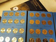 Volume 1 Complete Set X2 (P&D & A&B) 2007-2011 Presidential Gold Dollar 80 Coins