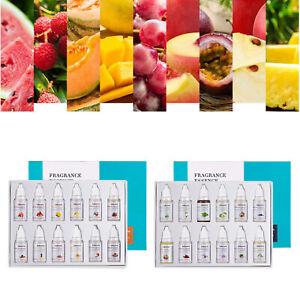12Pc/Set Lip Gloss Base Essence Food Grade Lipstick Making Flavor Materials