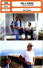 Fiche Cinéma. Movie Card. Rien à perdre/Miles from home (USA) 1988 Gary Sinise