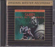 QUEEN - News Of The World - MFSL UDCD 588 - 24Kt Gold CD