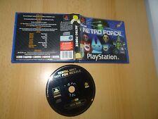 Rétro Force Sony Playstation 1 ps1 Noleggio Versione Pal
