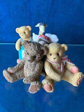 Retired Cherished Teddies 1st Edition Heather & Toy Box Giraffe Doll Bear ��sj7m