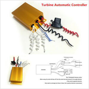 1x Aluminum Car Turbine Automatic Controller for 35000RPM Electric Turbo Charger