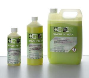 5L Wash n wax Shampoo real carnauba pH neutral valeting detailing