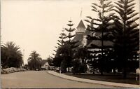 Real Photo Postcard Drive Up To Hotel Del Coronado San Diego California~138042