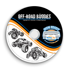 OFF-ROAD BUGGIES CLIPART-VECTOR CLIP ART-VINYL CUTTER PLOTTER+TSHIRT GRAPHICS CD