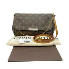 Louis Vuitton Favorite Mm Brown Monogram Canvas Shoulder Bag 2014