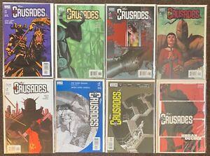 The Crusades #4,7,8,9,10,14,16,1 Urban Decree DC Comics Vertigo 2001 lot Nm