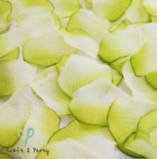 1200 APPLE GREEN SILK ROSE PETALS WEDDING FLOWER FAVOR FLORAL CONFETTI