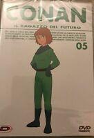 DVD MANGA HAYAO MIYAZAKI SERIE ANIME ANNI 80,CONAN IL RAGAZZO DEL FUTURO 5 DYNIT