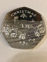 1983 Isle Of Man Ford Model T Proof 50 Pence