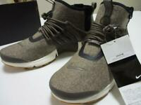 NIKE iD PENDLETON Collaboration Boots Shoes Air Presto Utility Mid Brown US 10