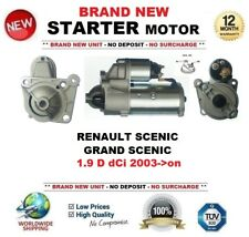 FOR RENAULT SCENIC 1.9 D dCi GRAND 2003-> STARTER MOTOR 1.9kW 11Teeth OE QUALITY