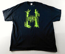 Jeff Hardy XXL 2-XL Wrestling T-Shirt TNA WWE Official Broken Logo Roh NEW