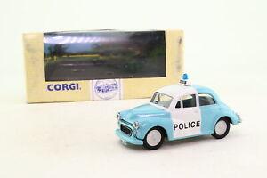 Corgi 96759; Morris Minor Saloon; Merthyr Tydfil Police Panda; Excellent Boxed